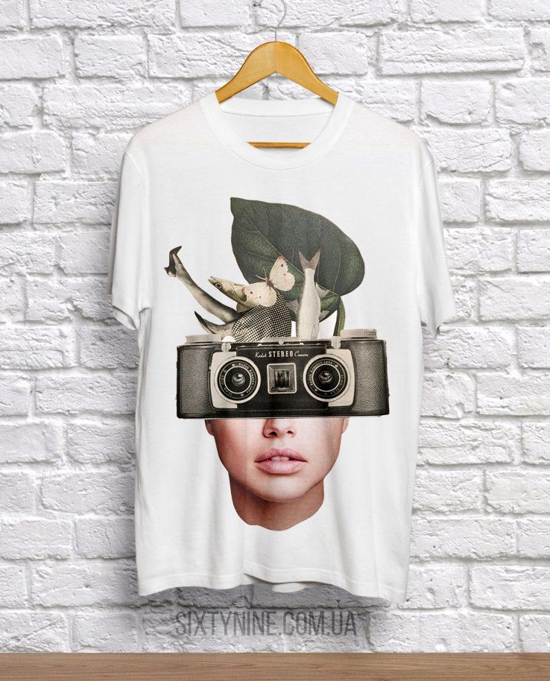 футболка портрет кодак